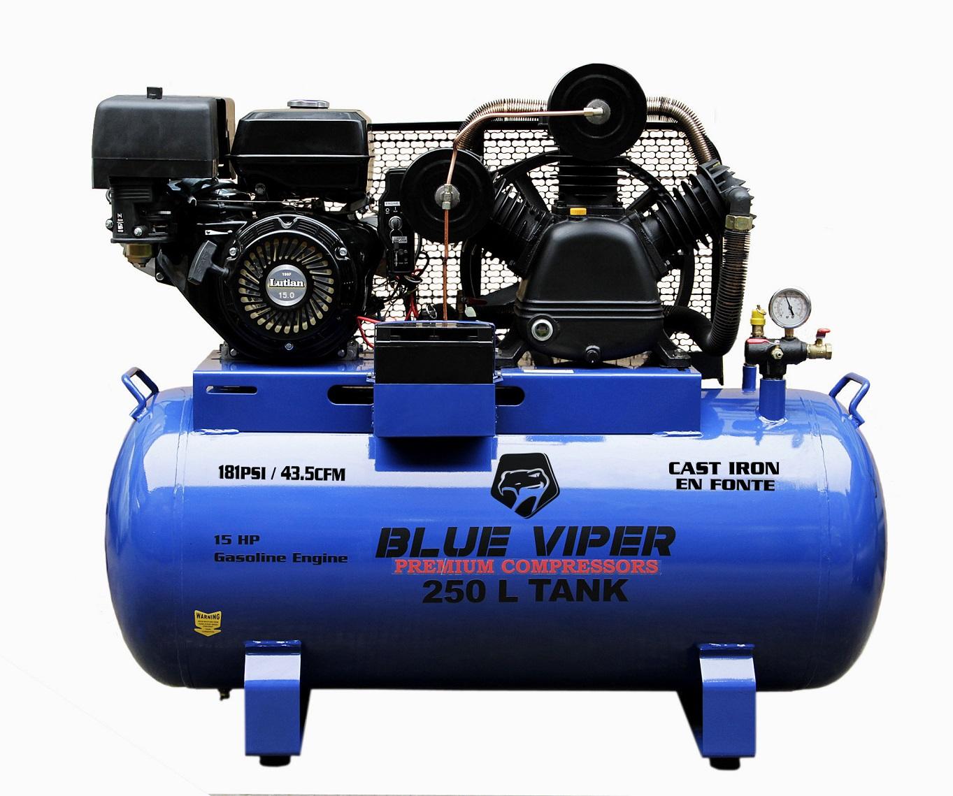 15 Hp Gas E Start 66 Gal Compressor Vpr15hp Uncle Wiener