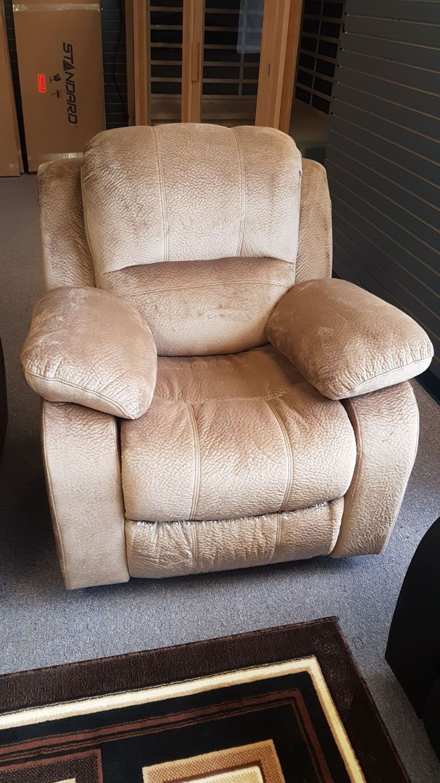 Rocking Recliner Furniture Living Room Chair Microfiber