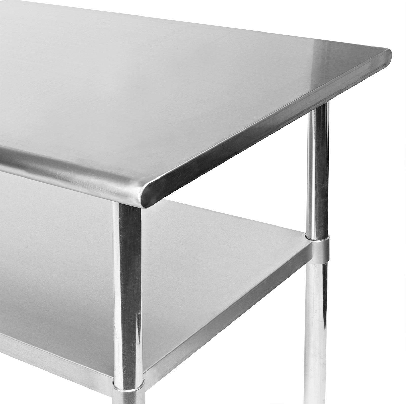 New Stainless Steel Tables 4 Ft 6
