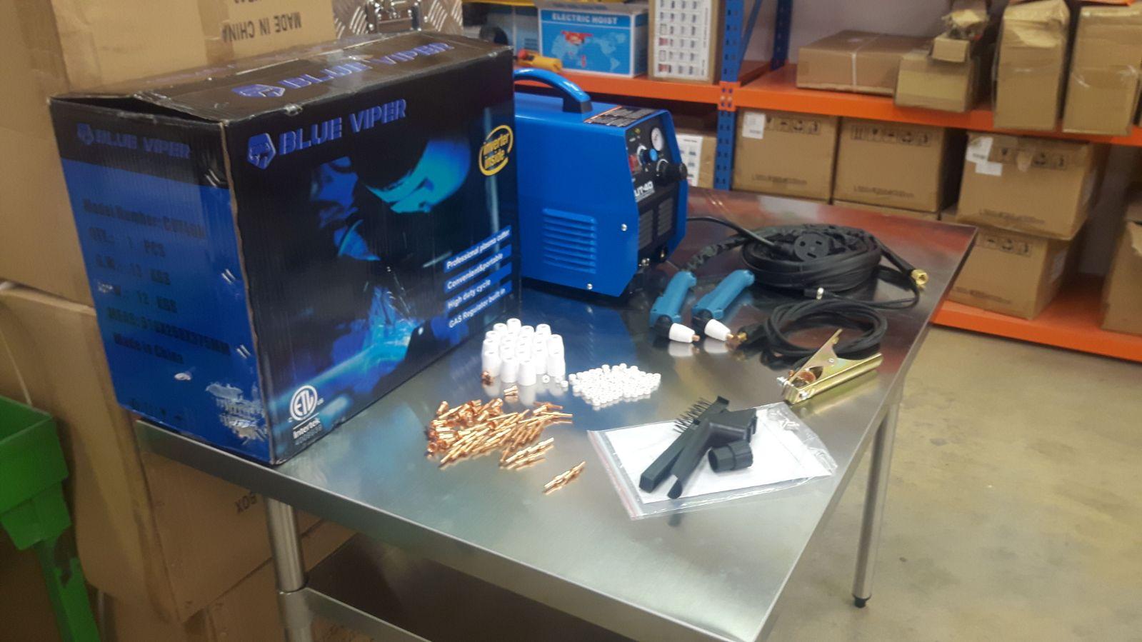 Blue Viper Dual Voltage Set Blue Viper Plasma Cutter