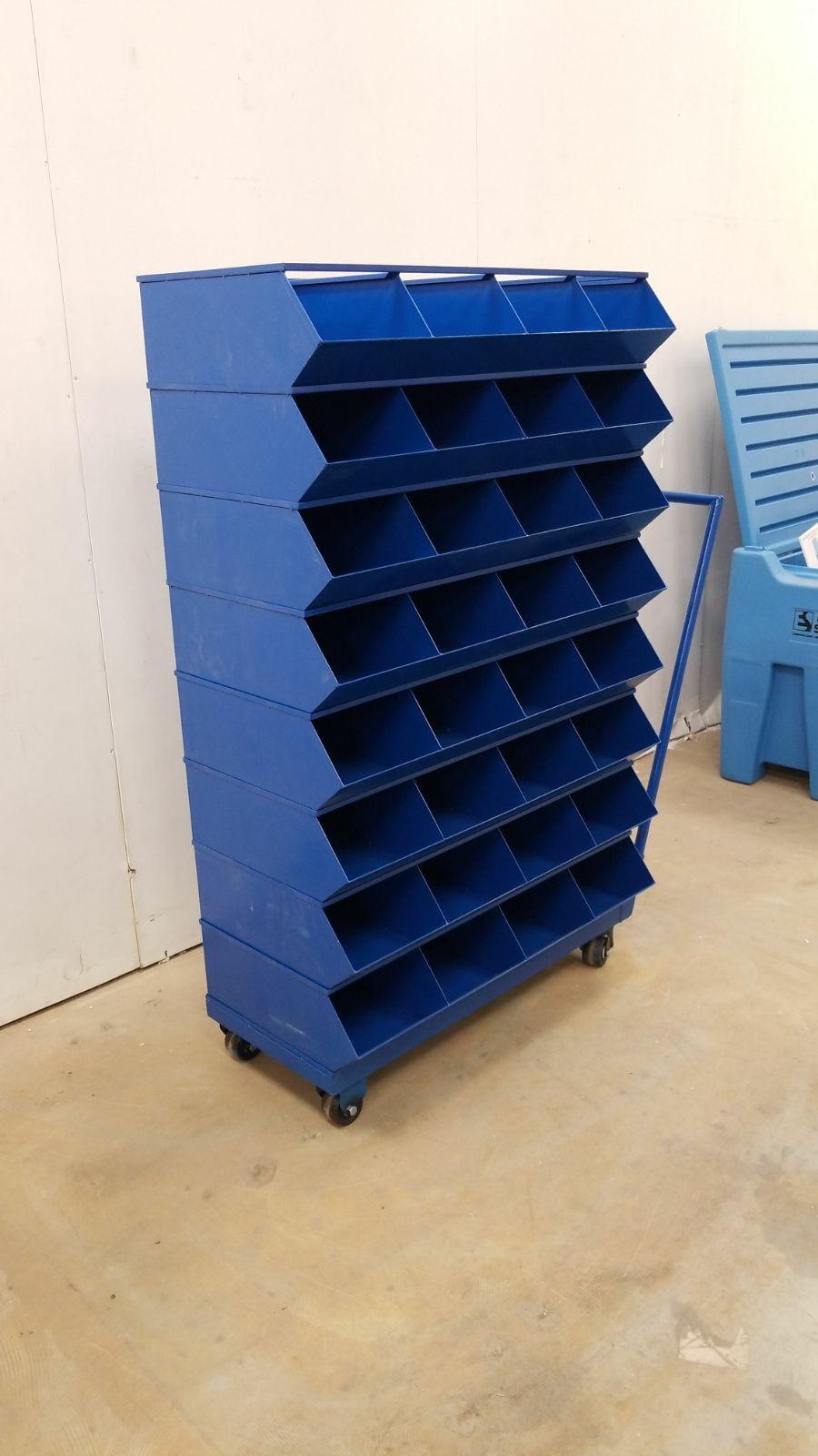 New Large 32 Drawer Rolling Parts Amp Bolt Bin Cabinet 499