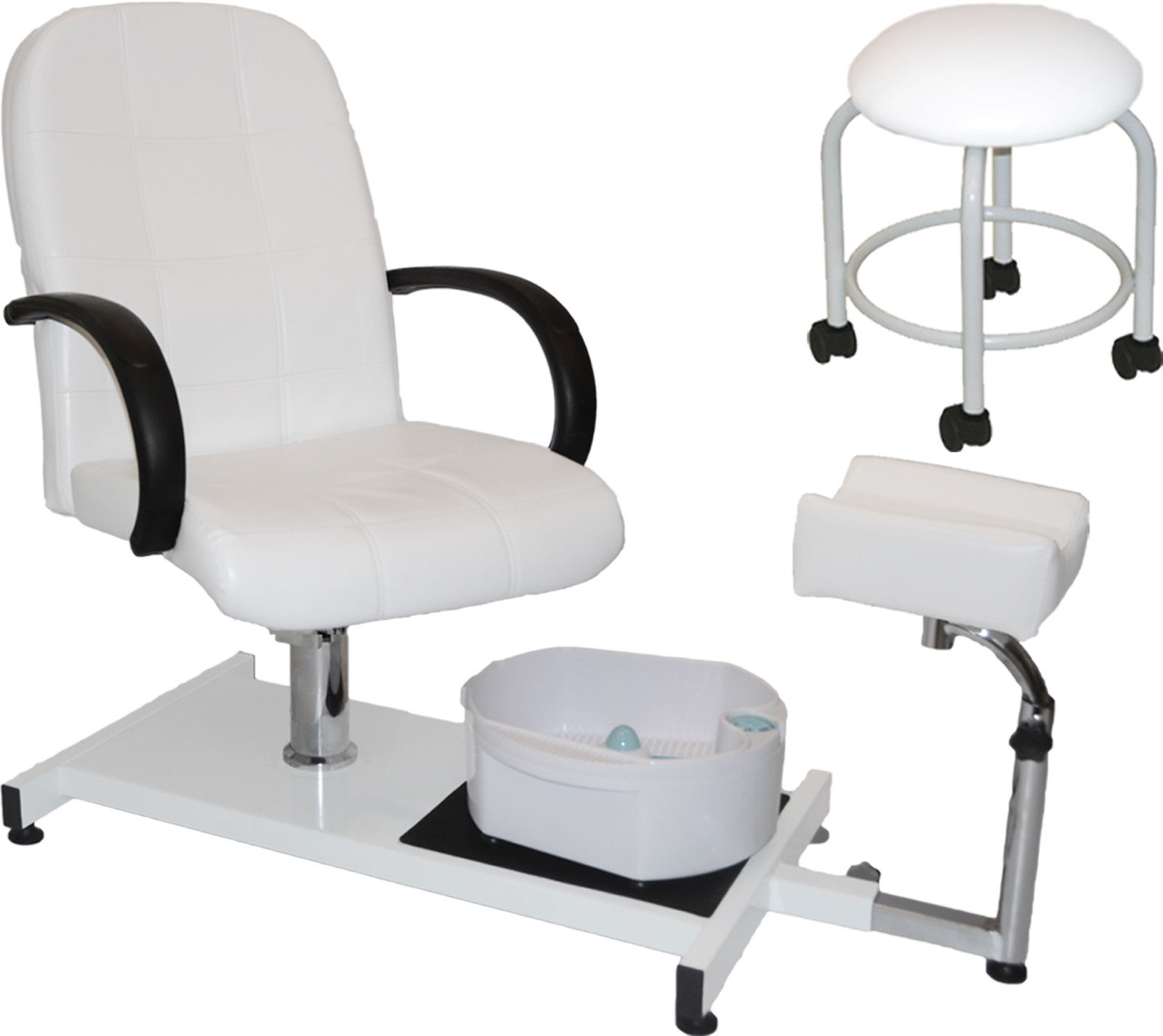 NEW PEDICURE STATION MASSAGE FOOT SPA BEAUTY SALON CHAIR ...