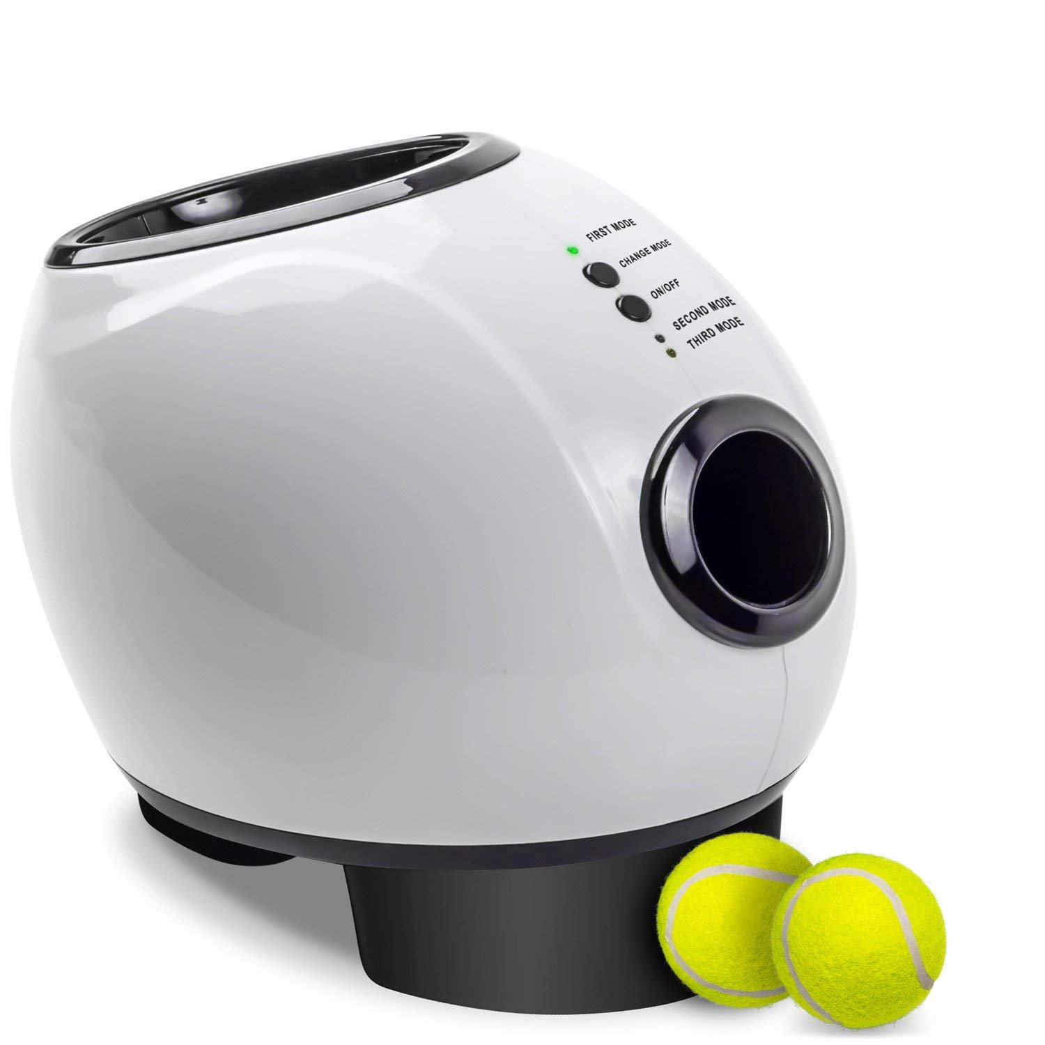 NEW PAWS & PALS AUTOMATIC BALL LAUNCHER WITH TREAT