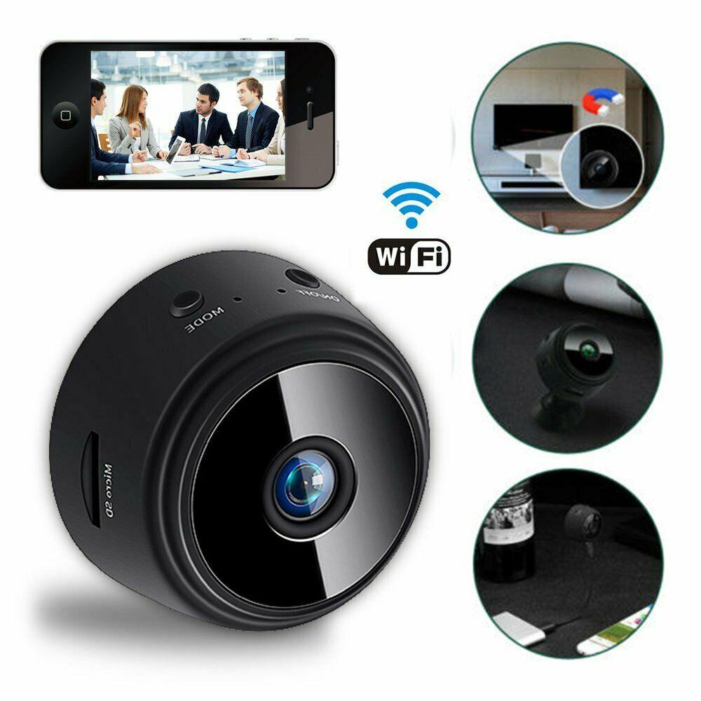 NEW 1080P MINI SPY WIFI CAMERA HD1080P & 32 GB CARD MS1109